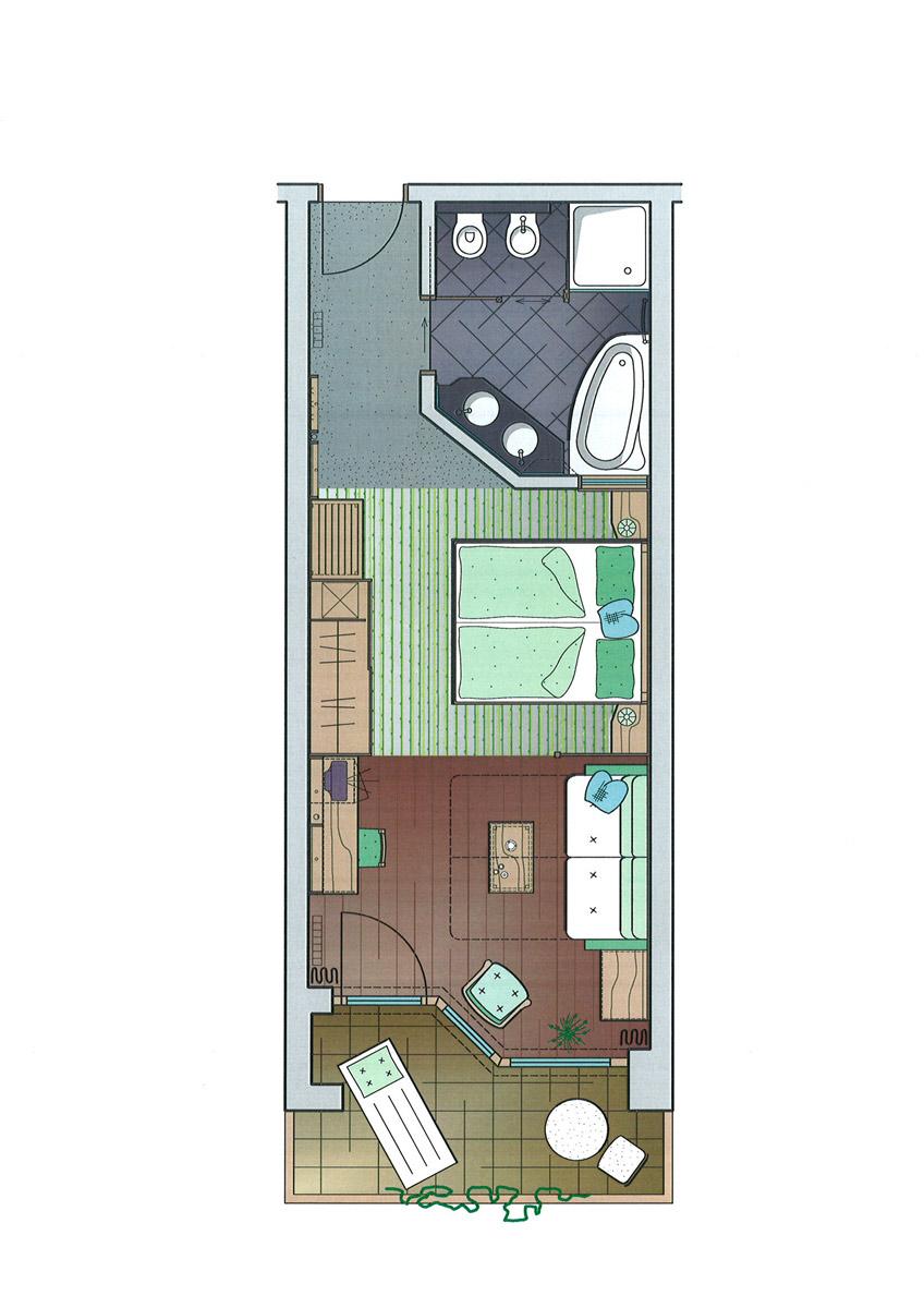 Pokój Deluxe